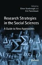 Research Strategies in the Social Sciences: A Guide to New Approaches  Paperbac