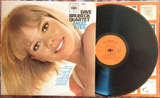 DAVE BRUBECK QUARTET / ANGEL EYES - LP (printed in Holland - 1965)