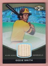 2011 Topps Triple Threads #149 OZZIE SMITH GAME USED BAT (HOF) Padres 21/27