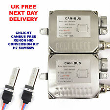50W 55W H7 Xenon HID Conversion Kit CANBUS Warning Free