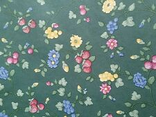 2 rolls Vintage wallpaper Country floral print with strawberry texture new pack