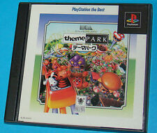 Theme Park - Sony Playstation - PS1 PSX - JAP Japan