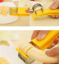 New Stainless Steel Cutter Fruit Cucumber Banana Sausage Slicer kitchen Tools SW