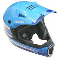 THE Thirty3 Cube Composite Full Face Mountain Bike Helmet Blue Large