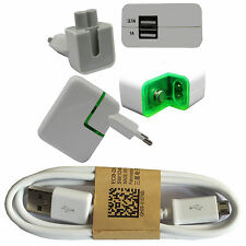 Huawei P9 Lite USB Kabel Ladekabel + SCHNELL LADEKABEL Power Adapter 3100 mAh