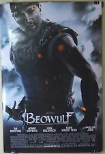 27x40 POSTER 2007 BEOWULF Movie Theater Art JOHN MALKOVICH Anthony Hopkins