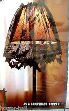 Gothic Black Lace-BAT SPIDER LAMP SHADE TOPPER VALANCE SWAG-Haunted House Decor