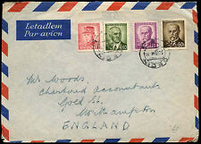 Czechoslovakia 1946 Airmail Cover To UK #C38273