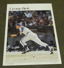 "1978 Sports Illustrated Poster George Brett Measures 24"" X 36"""