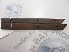 Boat Teak Wood Deck Wall Insert Trim 12 in Long 1988 Charger 1910 Cruiser 4.3L