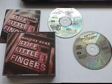 Stiff Little Fingers - All the Best (Parental Advisory, 1991) 2 CD W BKLET
