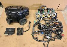 08-09 Suzuki GSXR 600 750 ECU Wiring Harness Air Box Throttle Bodies Rectifier
