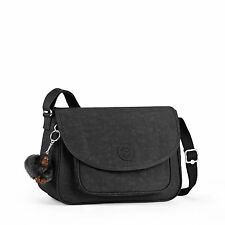 Kipling SUNITA Across Body/Shoulder/Messenger Bag BLACK RRP £79