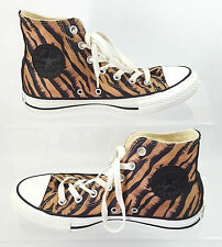 Converse All Star Hi Top Trainers Tiger Animal Print UK Size 5 EU 37.5 Women's