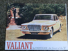 CHRYSLER VALIANT 1963 S SERIES   100% GUARANTEE.