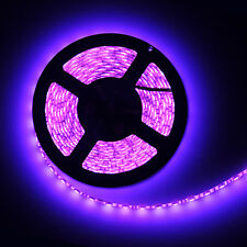 Waterproof Purple 5M 300 Leds 60leds/M 5050 SMD LED Flexible Strip Light 12V 60W
