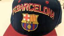 FCB BARCELONA Barça  Cap Hat adjustable  #7 embroidered Logo Patch Official new