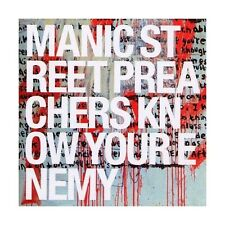 CD MANIC STREET PREACHERS- KNOW YOUR ENEMY 5099750188026