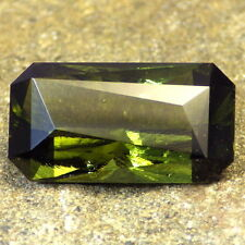 BOHEMIAN MOLDAVITE-RADOMILICE 11.55Ct ONE OF THE BEST AND LARGEST-TOP INVESTMENT