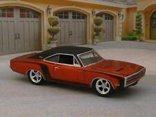 RESTO MOD 1970 Dodge Charger R/T V-8 Muscle Car 1/64 Scale Limited Edition D