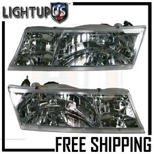Headlights Headlamps Pair Left right set for 98-02 Mercury Grand Marquis