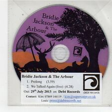 (FU202) Bridie Jackson & The Arbour, Prolong - 2013 DJ CD