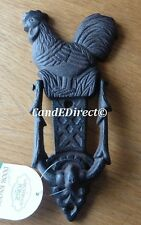 Cast Iron Cockerel Chicken Decorative Door Knocker NEW