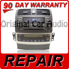 REPAIR ONLY 04 05 06 07 Acura TSX Radio Stereo Receiver 6 Disc Changer CD Player