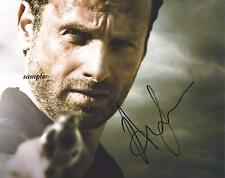 ANDREW LINCOLN #1 REPRINT AUTOGRAPHED SIGNED PICTURE PHOTO AUTO RP WALKING DEAD