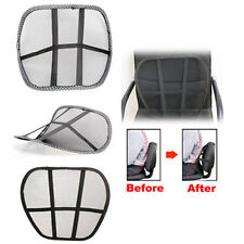 Health Massage Lumbar Support Mesh Home Office Chair Car Back Seat Cushion Brace