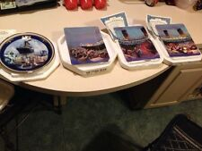 "Bradford Titanic ""Ship of Dreams"" Collection Set of 4 Plates COA's Replacements"