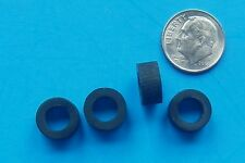 HO Scale Slot Car TYCO  SILICONE FRONT RACING TIRES, 4 Front Tire Lot