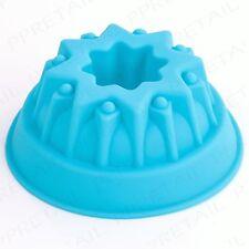 Fancy Star MINI Stampo in silicone per dolci da forno rotonda/savarin/Pane/TIN/Pan/Stampo/Deep