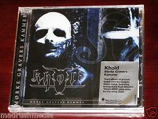 Khold Morke Gravers Kammer CD ECD 2012 Bonus Track Peaceville UK CDVILED392H NEW