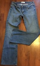 HABITUAL BOOTCUT LOW RISE JEANS SIZE 28/6, STRETCH LIGHT WASH DENIM