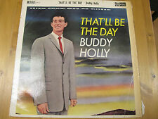 """AH.3 UK 12"""" 33RPM 1961 BUDDY HOLLY """"THAT'LL BE THE DAY"""" EX-"""
