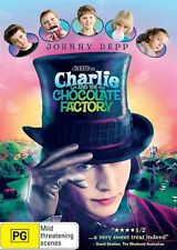 Charlie And The Chocolate Factory   - DVD, Region 4, Fast & Cheap Post...2125