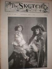 Printed photo actors Norman Forbes and Miss Valli Valli 1899