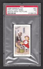 Shirley Temple Bill Robinson 1936 Ogden's Cigarette Card #27 PSA 7 NM Banjo