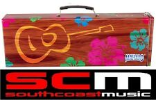 NEW MAHALO UCAN SOPRANO UKULELE TIN HARD CASE SOLID CASE FOR A UKE BRAND NEW!