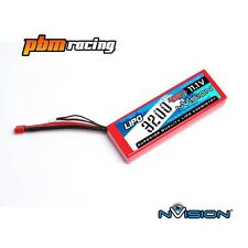 NVision Sport 3200 11.1v 3S 45C LiPo RC Hard Case Battery Deans Conn NVO1115