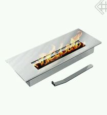New Bio ethanol firebox burner with wool insert adjustable lid 0.4L