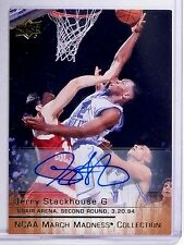 2013-14 Upper Deck March Madness Gold Jerry Stackhouse Autograph #JS3 *64270