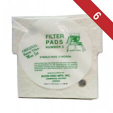 6 Pack (18 Filters) - Buon Vino Mini Jet Wine Beer Filter Pads #3