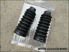 HONDA CHALY CF70 DAX CT70 ST70 Z50 Z50A Fork boot rubber / a pair // Black