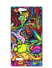 CUSTODIA COVER CASE MOSTRI VARI MONSTERS PER ZTE BLADE L2