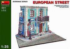Miniart MODEL KIT MIN36011 - Miniart 1:35 - European Street Diorama