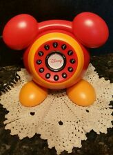 "Mickey Mouse Telephone DISNEY (REAL TELEPHONE) ""RARE"" AND HARD TO FIND!"