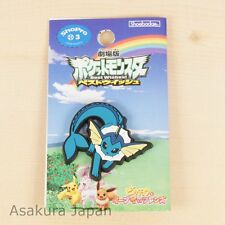 Pokemon Best Wishes crocs charms Vaporeon Rubber pin From Japan