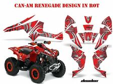 AMR RACING DEKOR KIT ATV CAN-AM RENEGADE, DS250,DS450,DS650 GRAPHIC KIT DEADEN B